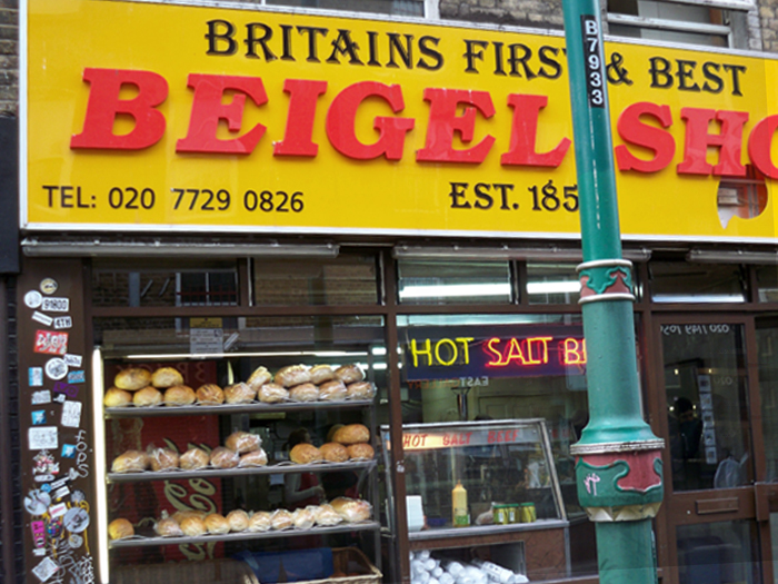 Ein anderer Beigel Shop in London