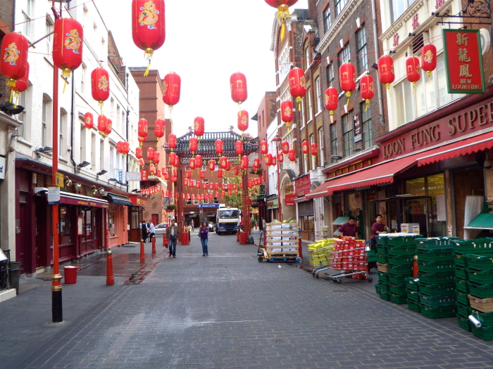 Chinatown in London, England