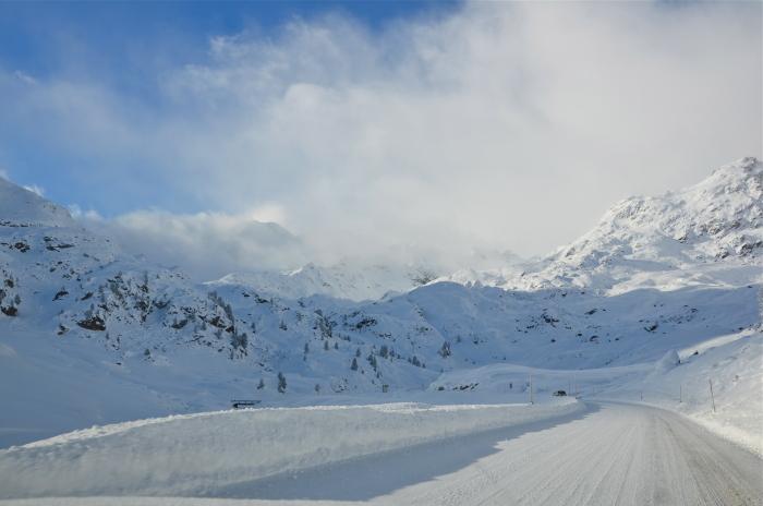 Zufahrt zu einem Tiroler Gletscher