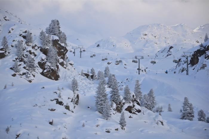 Der Kaunertaler Gletscher, einer der fünd Tiroler Gletscher