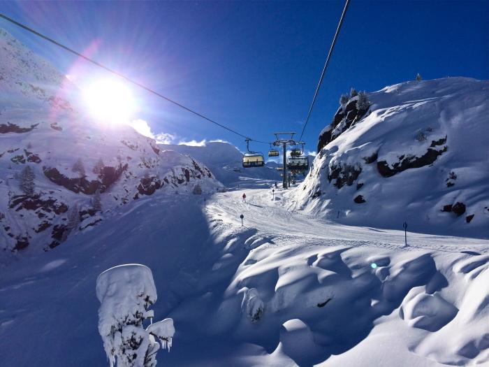 Einer der Tiroler Gletscher ist der Kaunertaler Gletscher