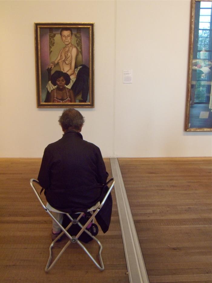 Ein Gemälde in der Tate Mondern