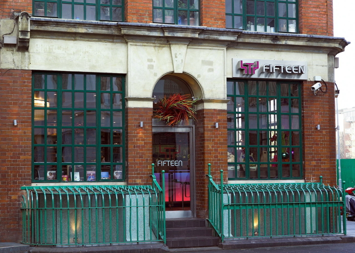 Das Restaurant Fifteen von Starkoch Jamie Oliver in London