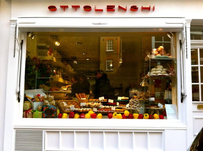 Das Szene-Restaurant Ottolenghi in London
