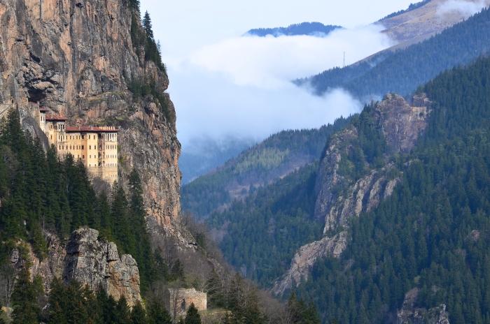 türkische schwarzmeerküste kloster