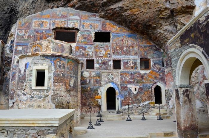 kloster türkische schwarzmeerküste