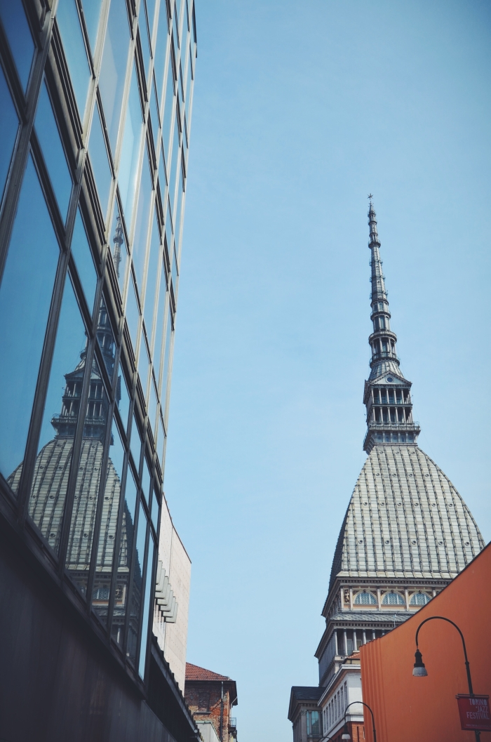Der Mole Antonelliana in Turin