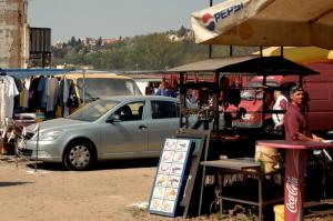 Kolbenova flea market in Prague: the largest in Czech Republic