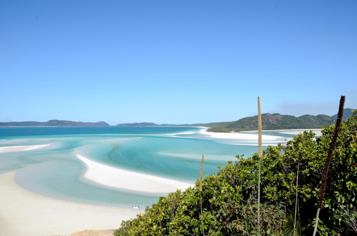 Whitehaven Beach on the Whitsunday Islands