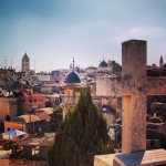 The story behind – Jerusalem's Old City from up above