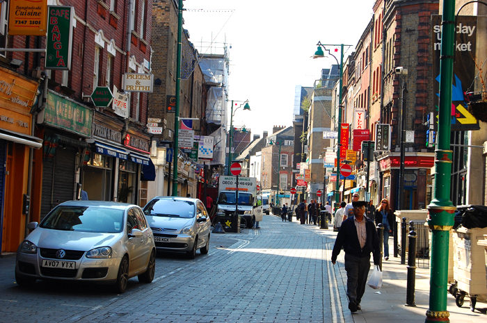 London on a Budget: The Brick Lane in Shoreditch