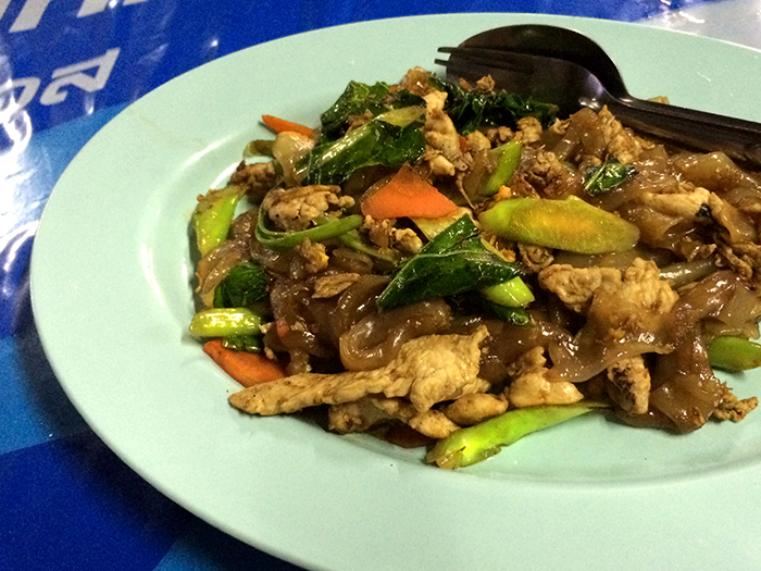 Foods in Thailand Pad Seaw