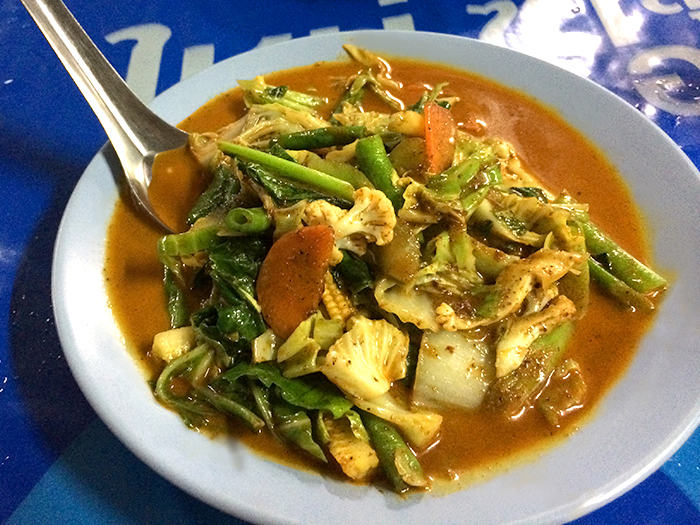 Foods in Thailand Red Curry