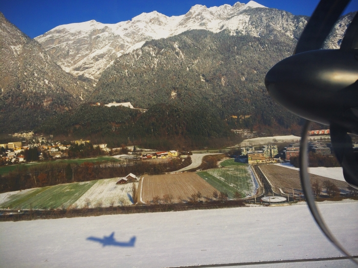 Departure at Innsbruck Airport
