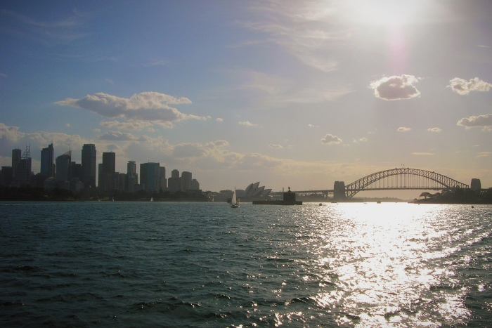 Backpacking Australien wie im Sydney Habour