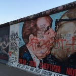 East Side Gallery, Berlin Wall and the passage of time