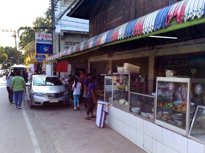 A Chiang Mai Restaurant at a street