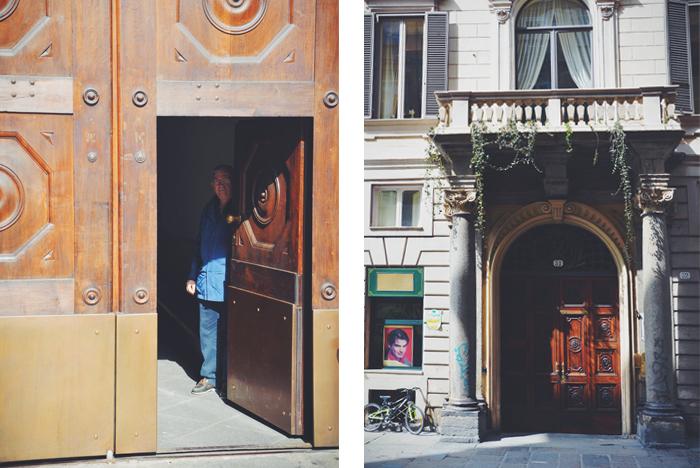 Various italian doors