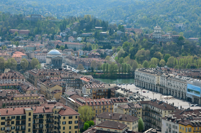 Turin from up above