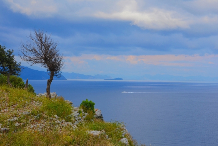 The Aegean coast