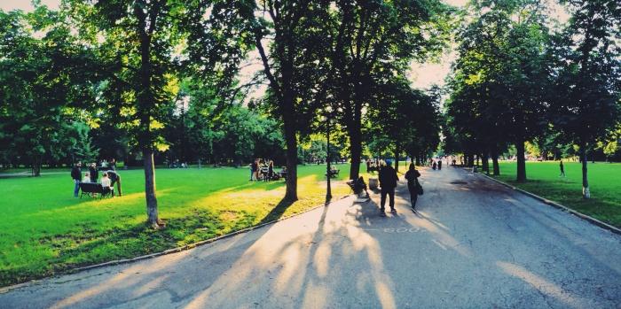 Ein Park in Sofia in Bulgarien