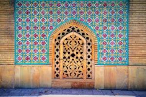Golestan palace in Tehran, Iran: a tiled beauty
