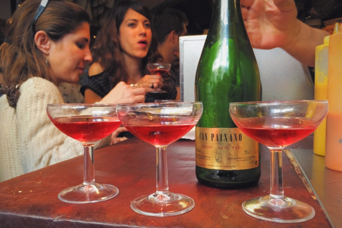 Barcelona Champagne Bar Xampanyeria  are the perfect place to socialize