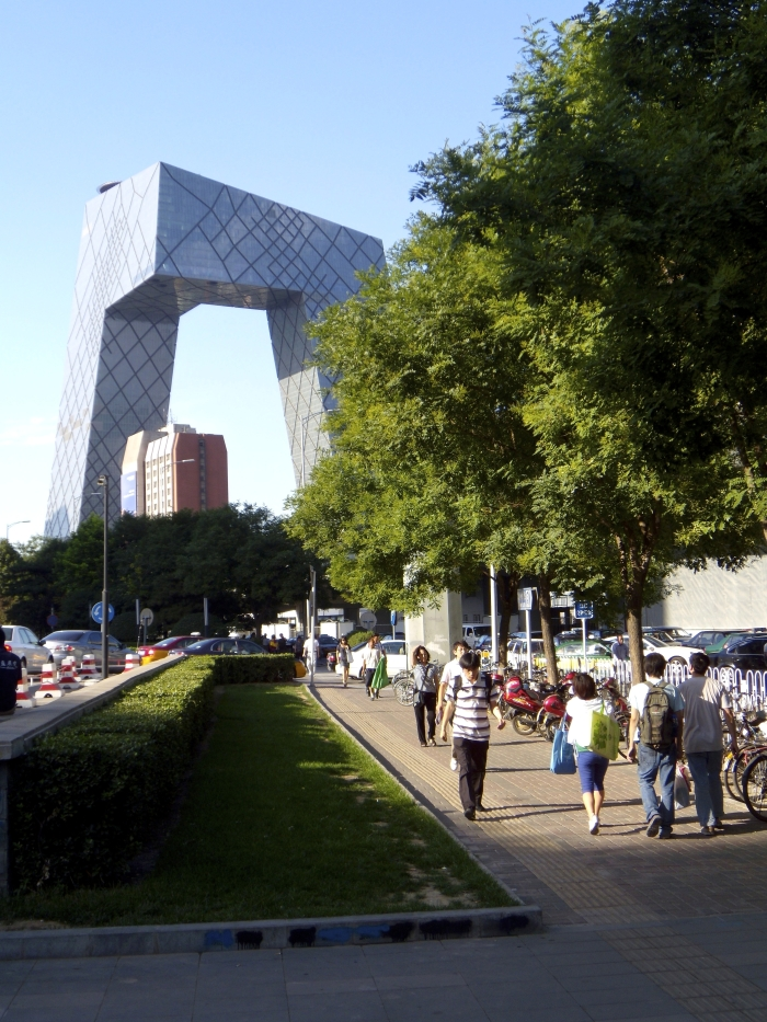 The CCTV Tower in Peking in China