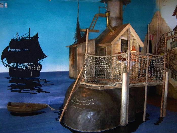 Stockholm Museum: Ein Teil der Ausstellung im Junibacken in Stockholm
