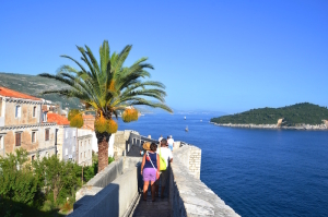 A walk on the Walls of Dubrovnik
