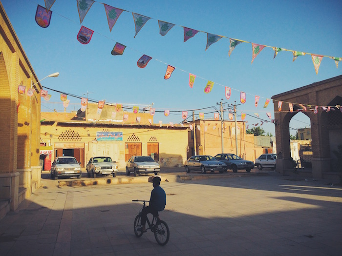 The backstreets of Shiraz in Iran