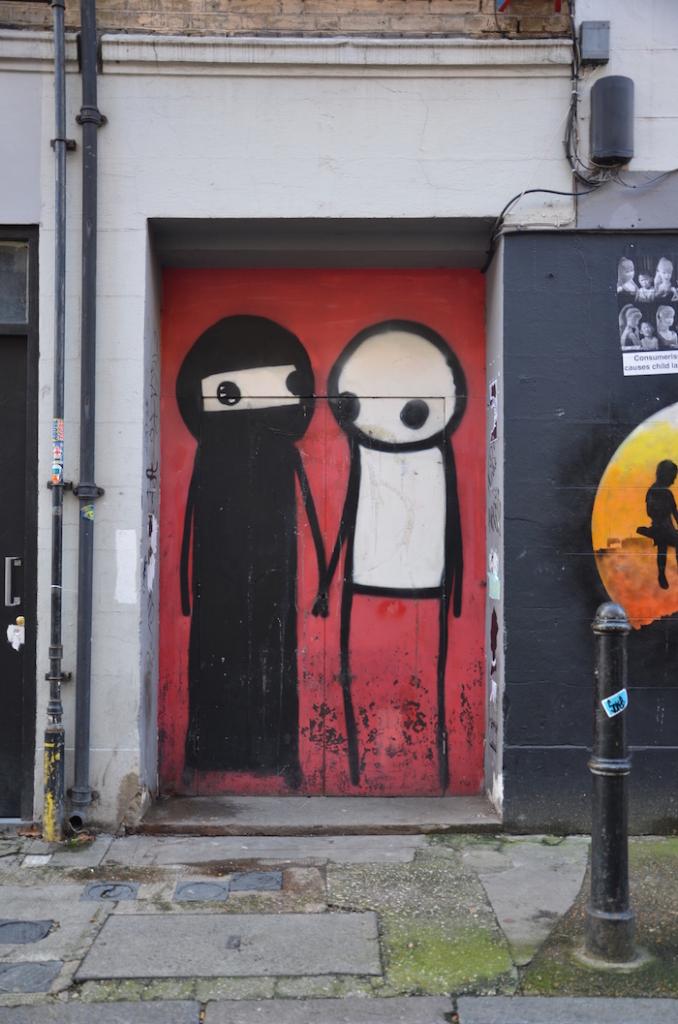 Shoreditch Street Art: Streetart_London_Shoreditch_Bangladesh