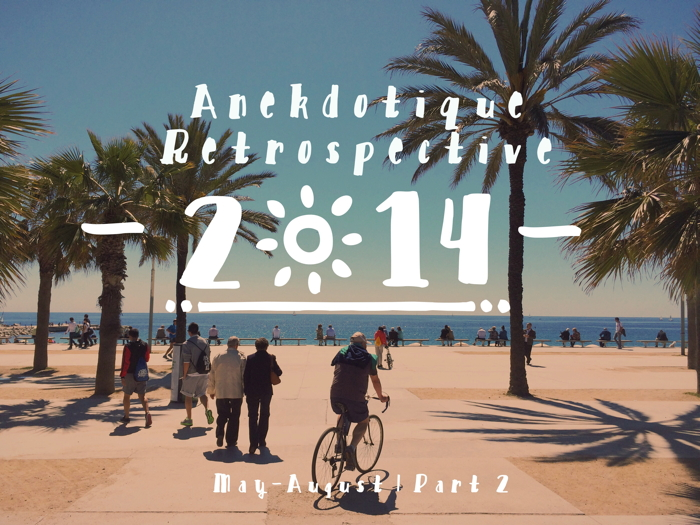 Anekdotique Travel retrospective 2014