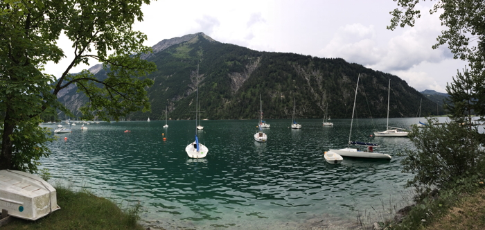 Anekdotique 2014 Travel Retrospective at Achensee Lake in Austria