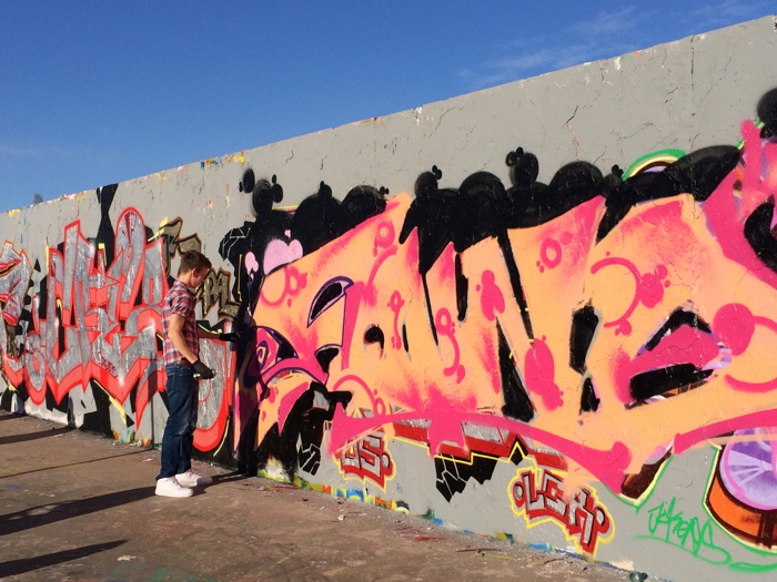 Anekdotique 2014: Graffiti at Mauerpark in Berlin