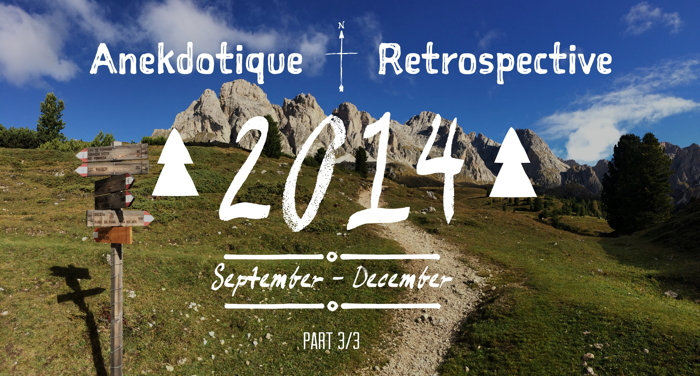 Anekdotique Travel 2014 Retrospective
