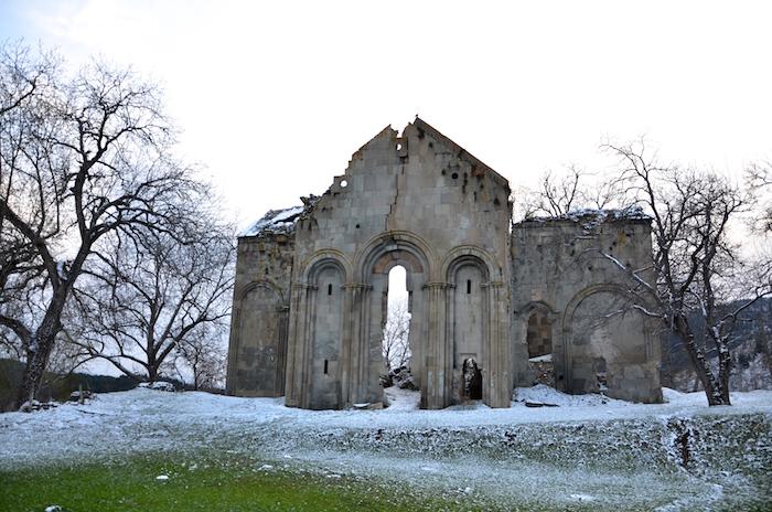Anekdotique 2014: a church ruin in Turkey