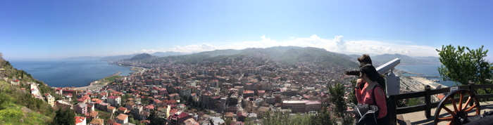 Anekdotique 2014: The view of Giresun at the Turkish Black Sea Coast
