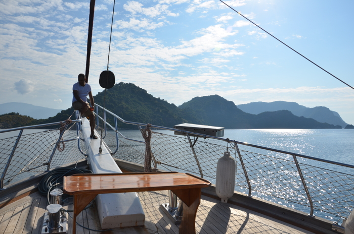 Anekdotique 2014 Travel Retrospective: on a yacht in Turkey