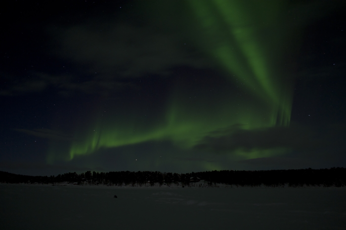 Northern Lights at Kiruna in Sweden