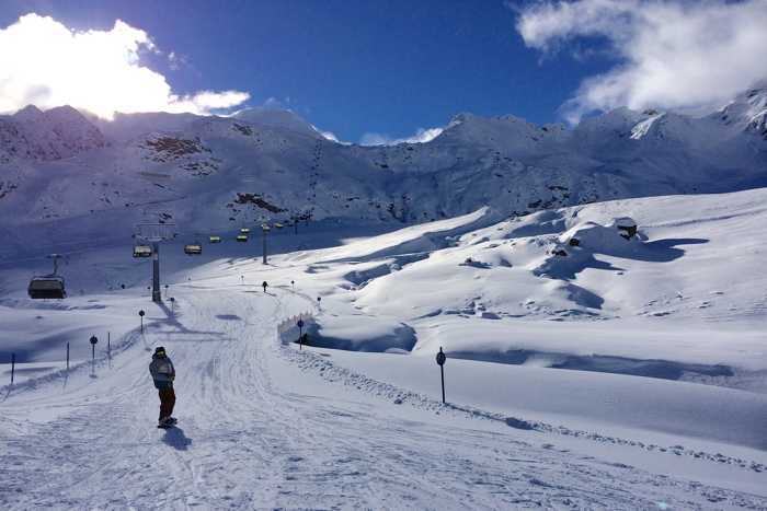 Kaunertal Glacier skiing