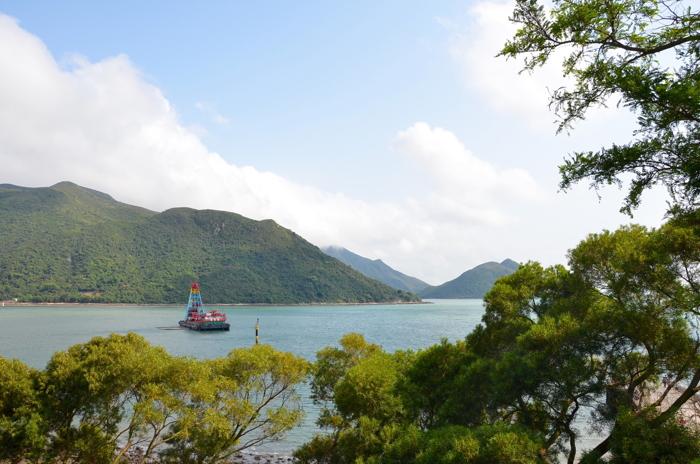 Bay of Tai O fishing village in Lantau Island Hongkong