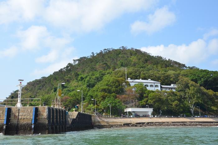 The Tai O Heritage Hotel in Tai O fishing village in Lantau Island Hongkong