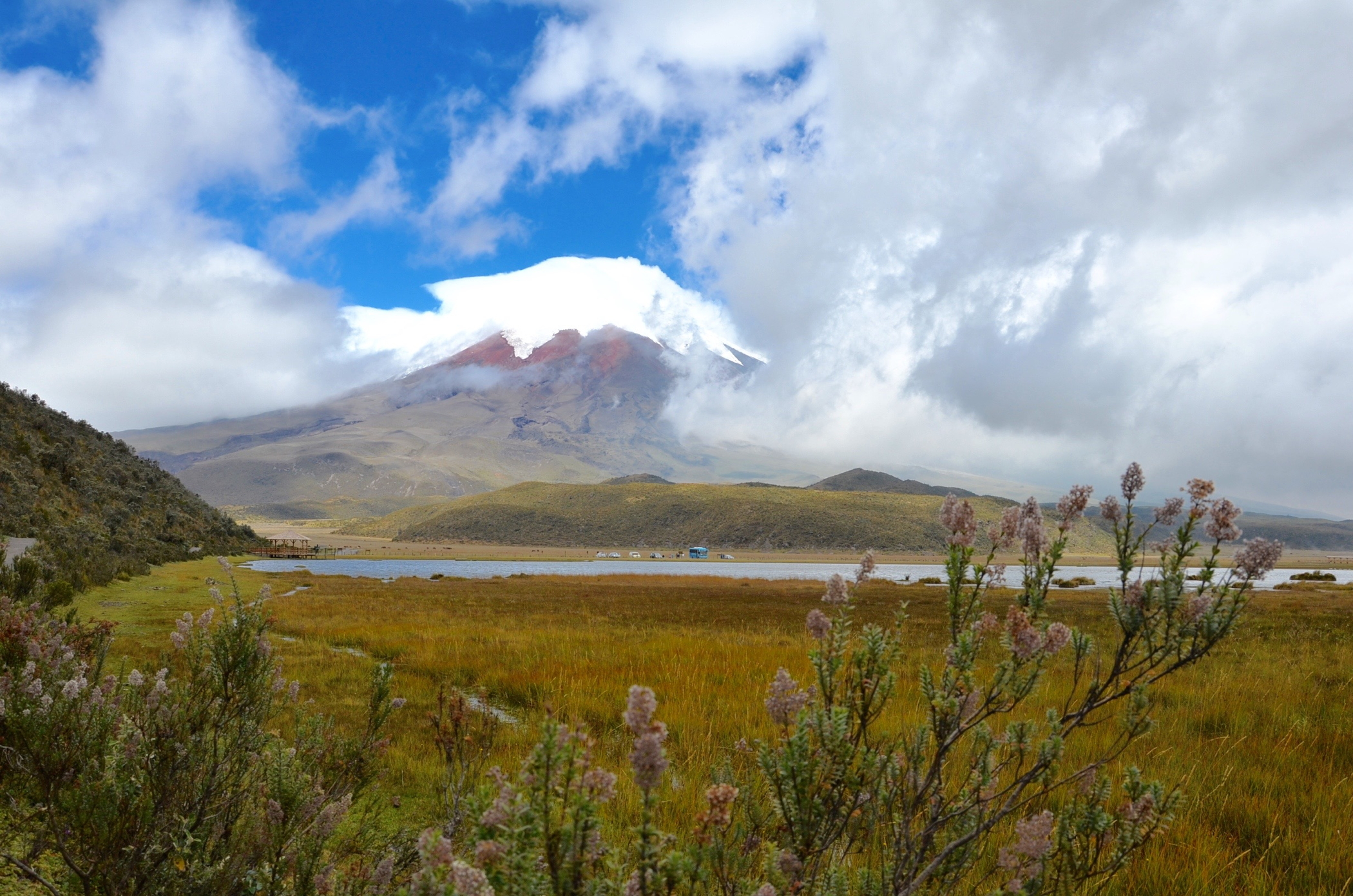 Hosteria Papagayo ist ein Hotel nahe Cotopaxi Nationalpark in Ecuador