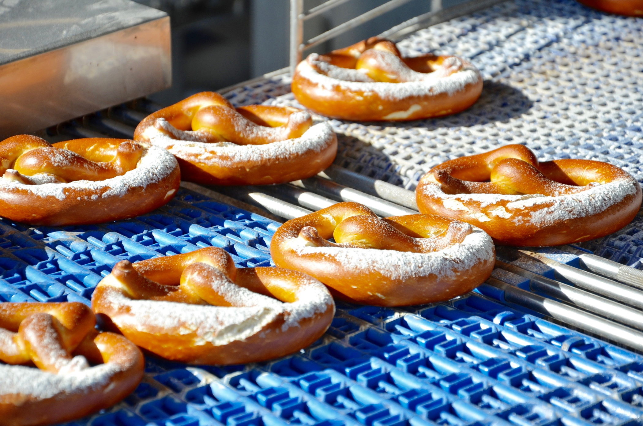 Pretzel in Nuremberg: the best Nuremberg sausage