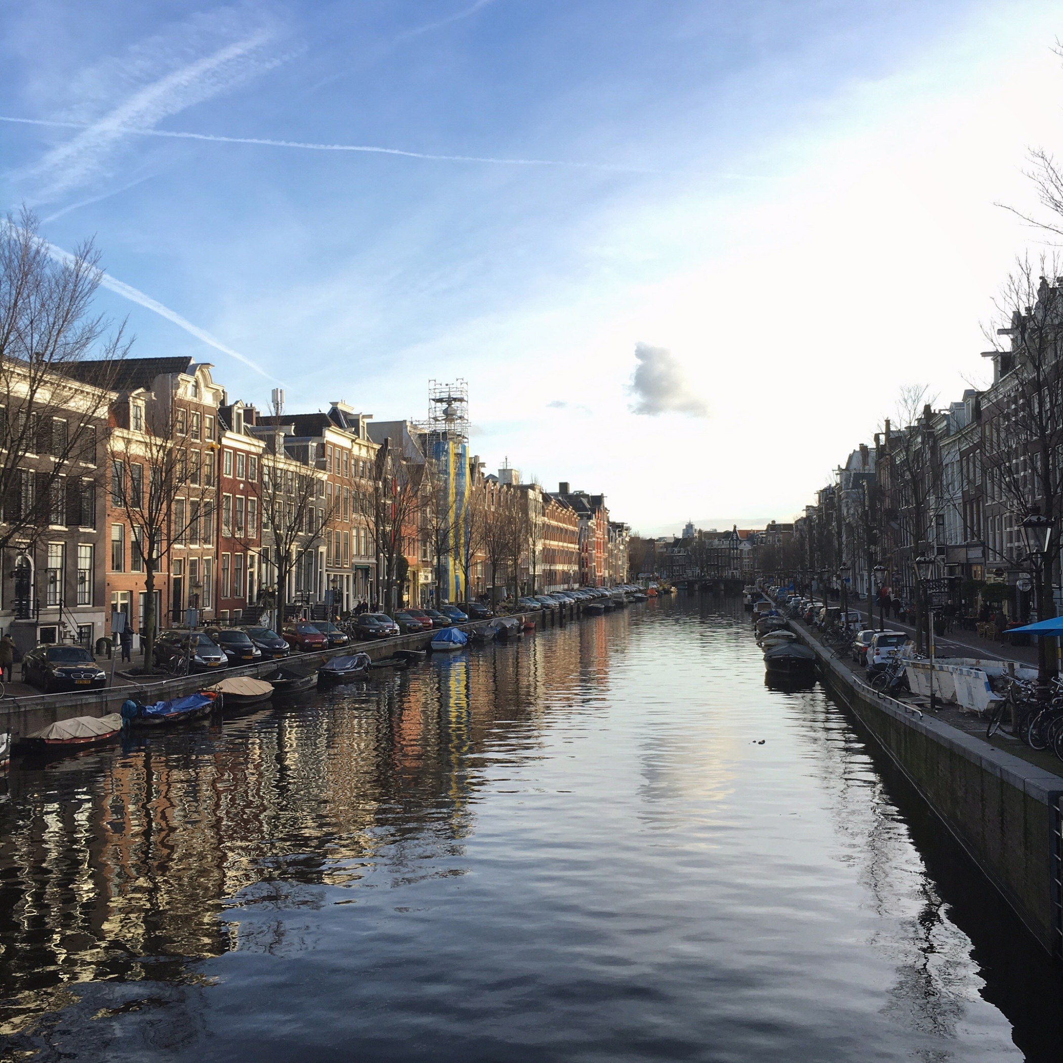 One favorite Instagram 2015 photo from Amsterdam