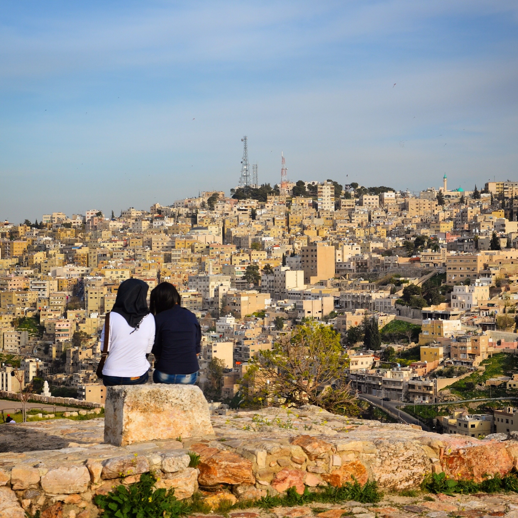 One favorite Instagram 2015 photo from Amman in Jordan