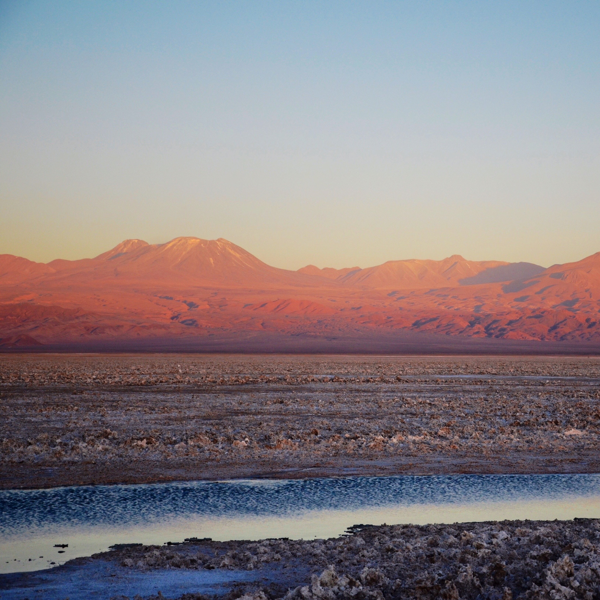 One favorite Instagram 2015 photo from Atacama desert in Chile