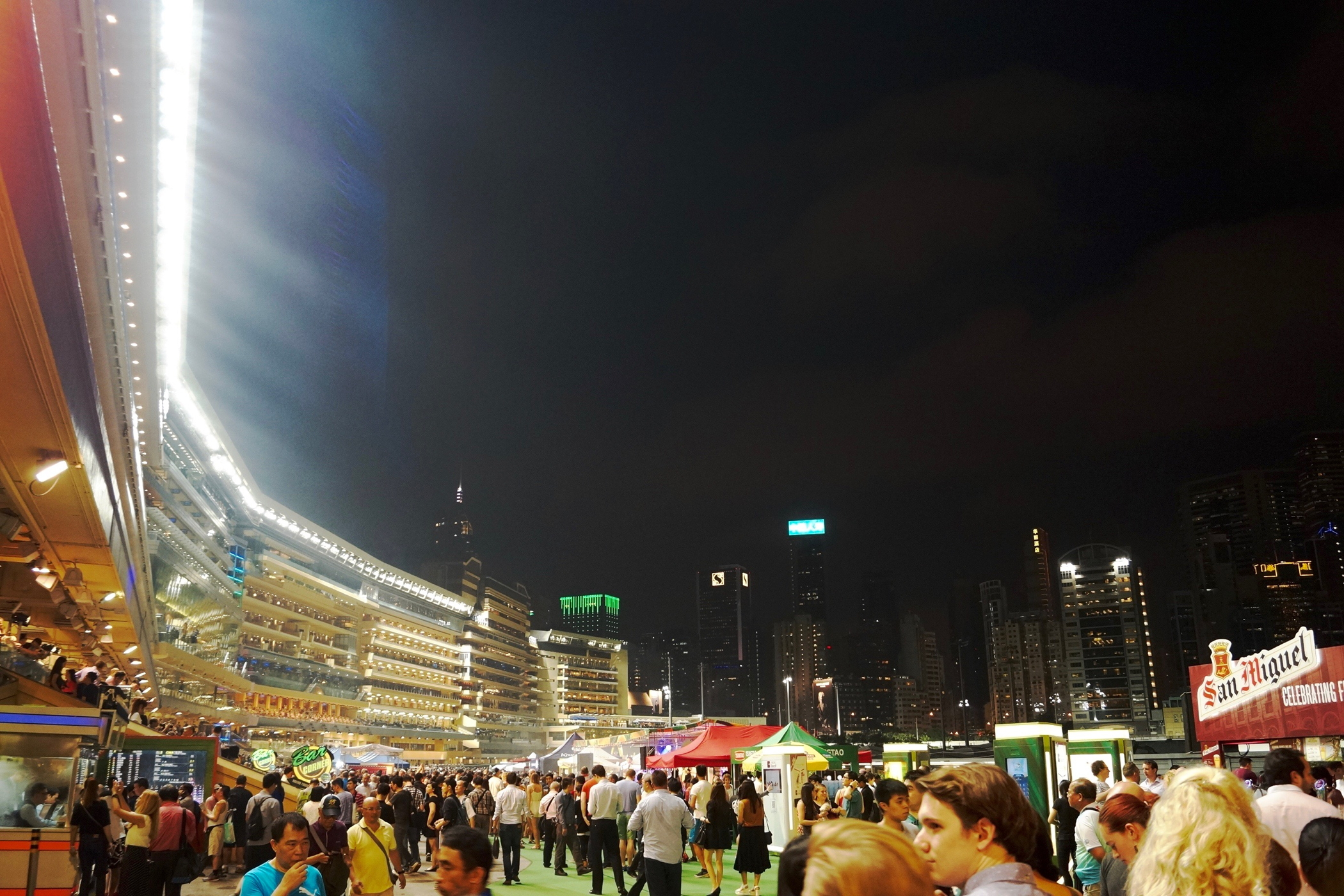 Happy Valley horse race course and other Unordinary things to do in Hong Kong
