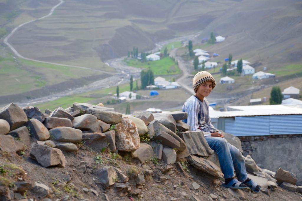 azerbaijan travel Xinaliq Kids
